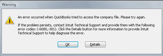 Quickbooks error 6189 82